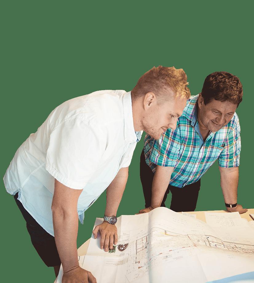 Chris und Jens Kummer von Elektro Kummer GmbH & Co. KG