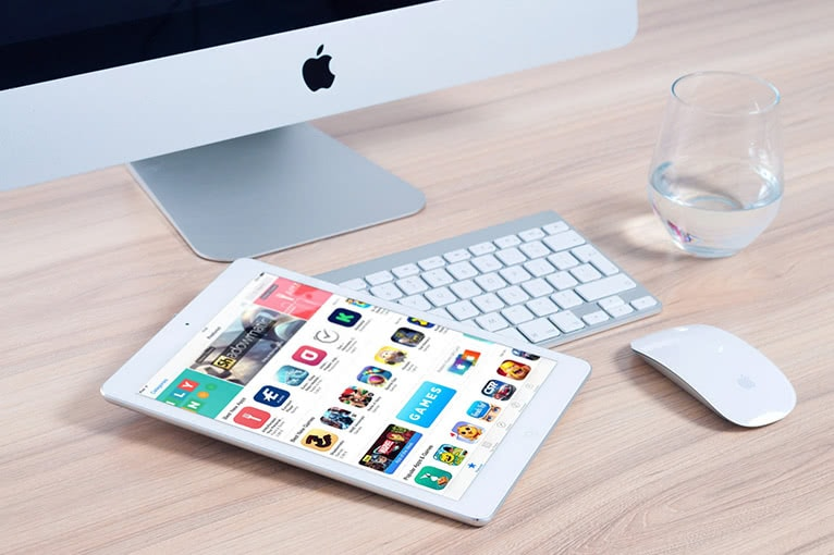 Entwicklung für Tablets