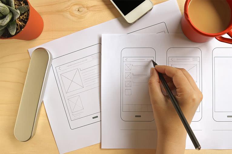Designs und Entwicklungen erwecken Projekte zum Leben